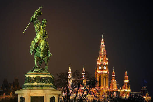 Vienna - Heldenplatz - Square Of Heroes by Marc Huebner