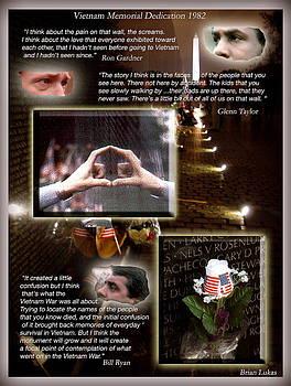 Vietnam Memorial  reflections by Brian Lukas