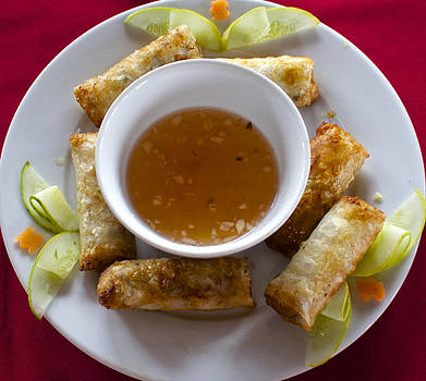 Venetia Featherstone-Witty - Vietnamese Fried Rolls With Chili Sauce