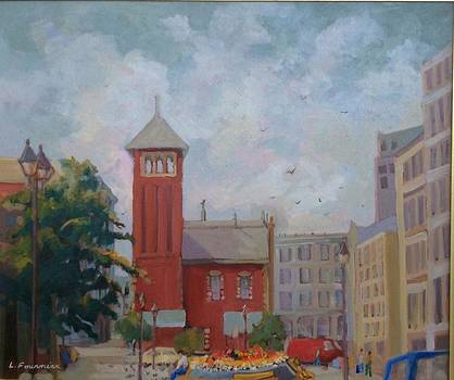 Vieux  Montreal by Liliane Fournier