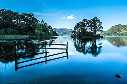 View across Derwent Water by Stuart Gennery