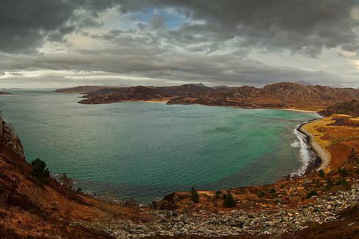 View at the Gruinard Bay Scotland by Gabor Pozsgai