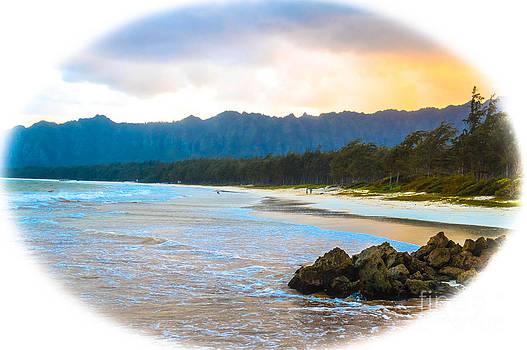 View from Bellows at Kaneohe by Lisa Cortez