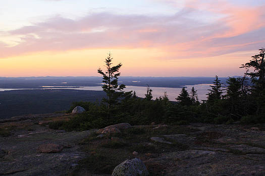 View from Cadillac Mountain by Terry Decker