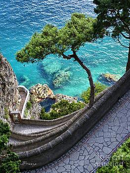 View from Capri.Italy by Jennie Breeze