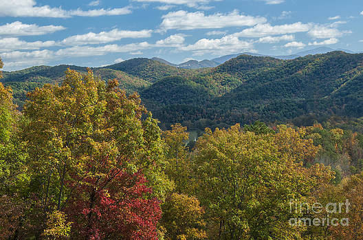 View from Foothills Parkway by Ricky Smith