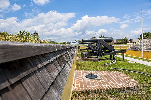 Dale Powell - View from Fort Moultrie to Church