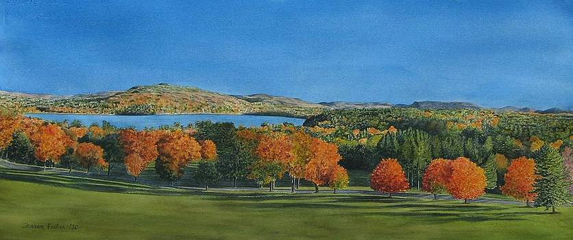 View from Kripalu by Sharon Farber
