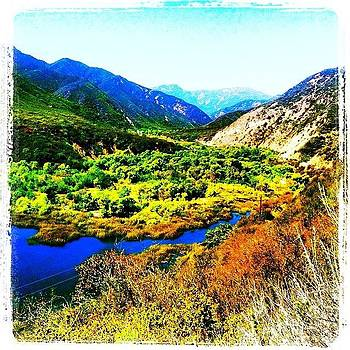 View From Our hike Today by Tristan Thames