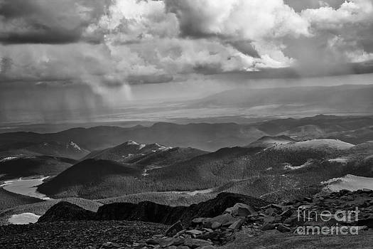 View from Pikes Peak by CJ Benson