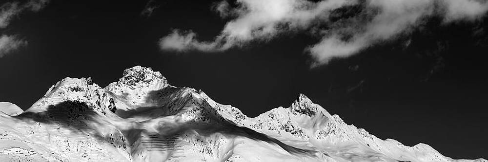 View from St. Moritz by Marc Huebner
