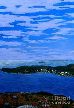 Barbara Griffin - View from Sugarloaf Hill Ship Harbour Cove