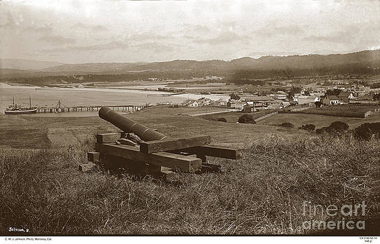 California Views Mr Pat Hathaway Archives - View from the Fort Presidio of Monterey circa 1889