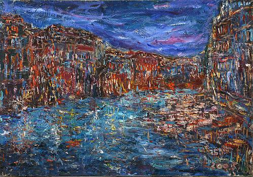 View From The Ponte di Rialto by Borislav Djukanovic