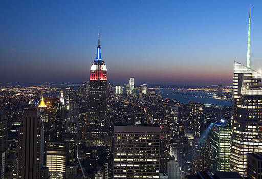 View from the Top of the Rock by David Yack