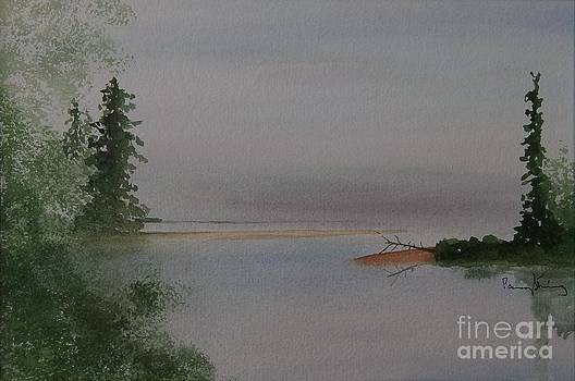 Big Bay on Lake Superior by Penny Stroening