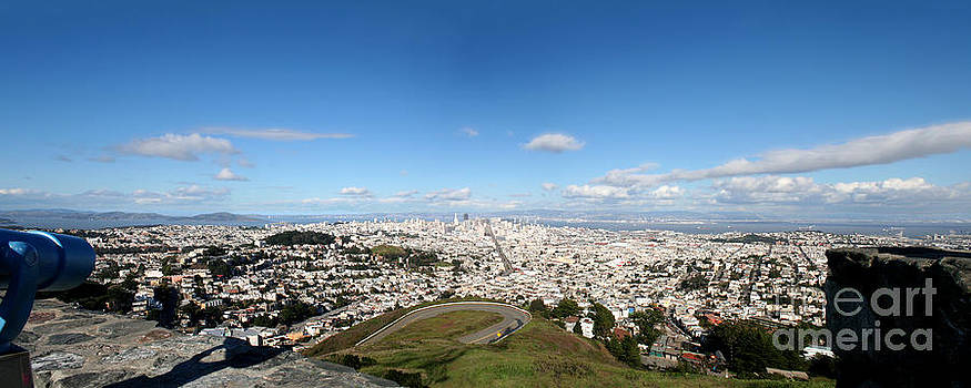 View from Twin Peaks by Martina Roth