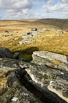 View near Beardown Tor by Pete Hemington