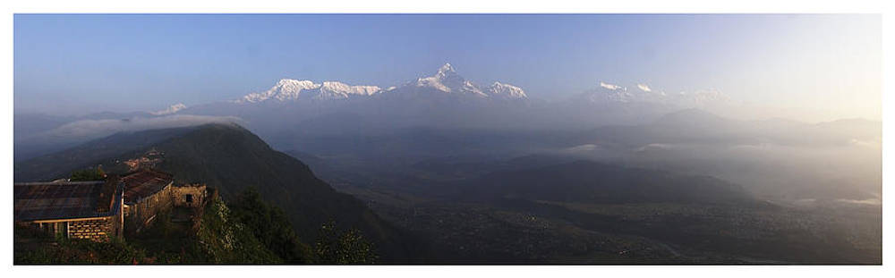 view of Annapurna by Atul Daimari
