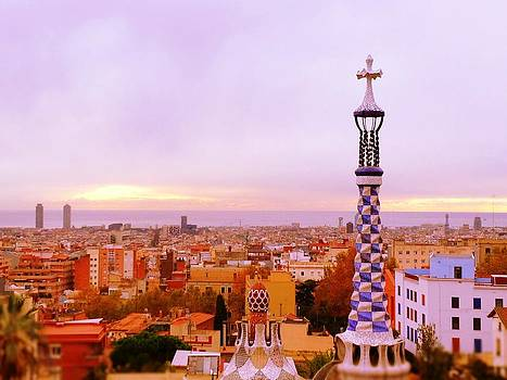 View of Barcelona by Maeve O Connell