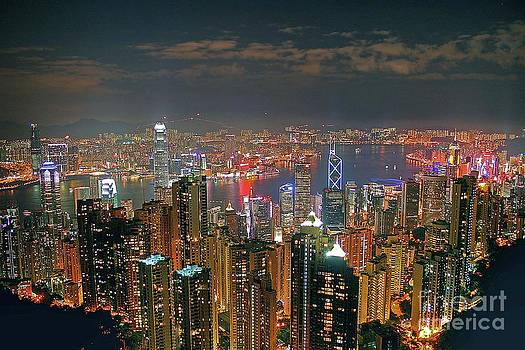 View of Hong Kong from the Peak by Lars Ruecker