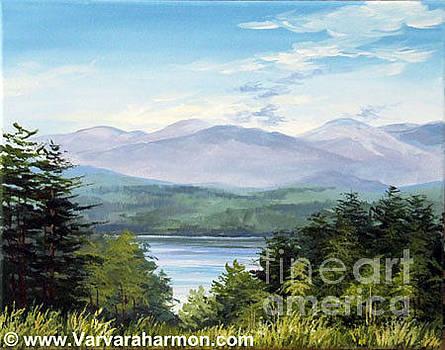 View of Kezar Lake by Varvara Harmon