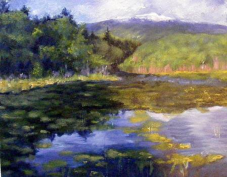 View of Mt. Mondadnock by Lenore Gaudet