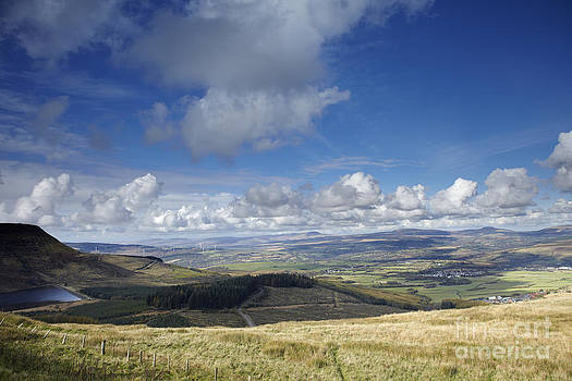 View of the Brecon Beacons by Premierlight Images