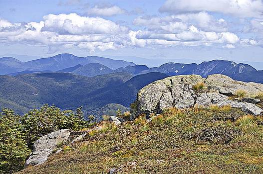 View of The Great Range from Algonquin by David Seguin North Creek Designs