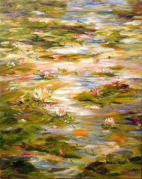 View of the Lily Pond by Barbara Pirkle