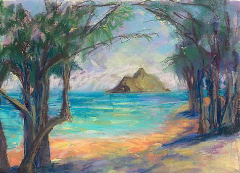 View of the Mokulua by Jennifer Robin