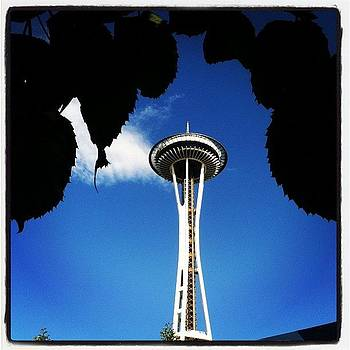 View Of The #spaceneedle From by Stacy C