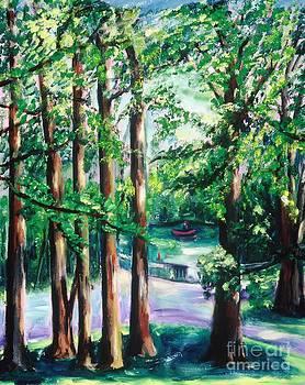 View of Woodside Lake by Karen Francis
