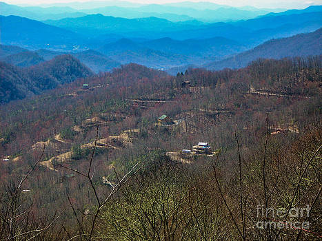 View on Blue Ridge Parkway by Randi Shenkman