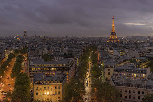 Vyacheslav Isaev - View over paris
