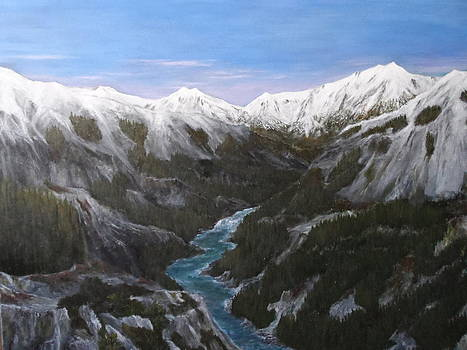 View Over The Range by Paul Carter