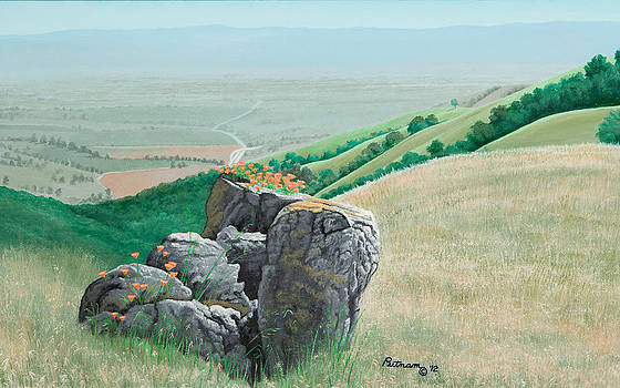 Views from Canada de los Osos #1 by Michael Putnam