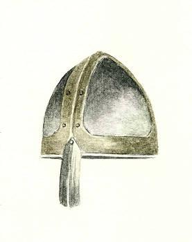 Viking Helmet by Michael Vigliotti