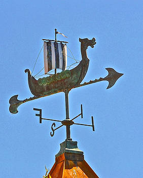 Bill Owen - Viking Ship Weather Vane