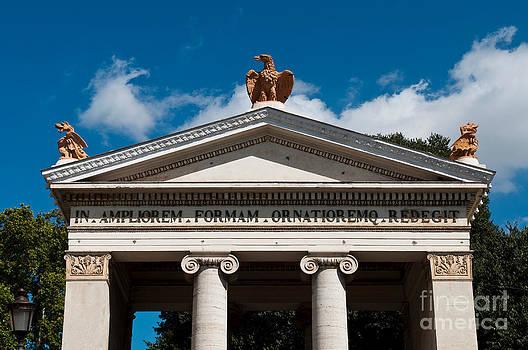 Villa Borghese entrance by Luis Alvarenga