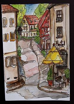 Village in Germany by Michelle Gonzalez