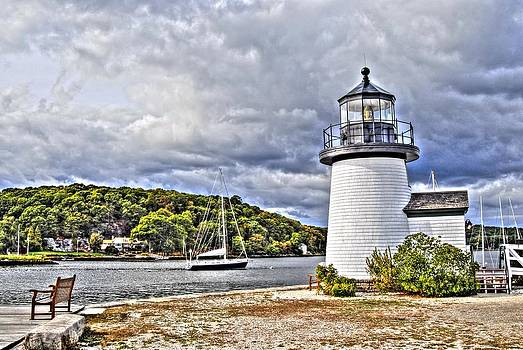 Village Lighthouse by Donald Williams