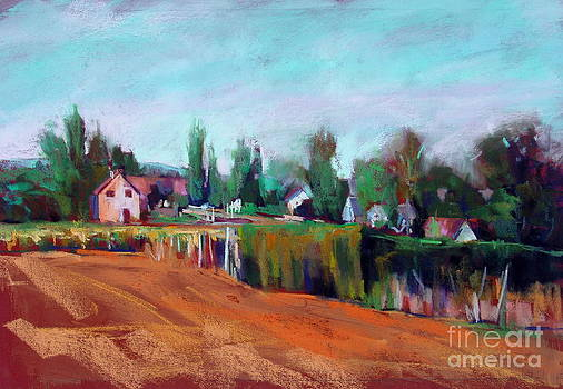 Village of Fontain Forche by Virginia Dauth