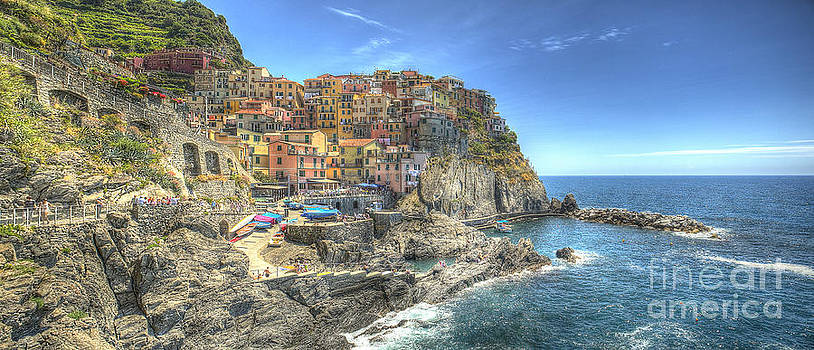 Village of Manarola by Alex Dudley