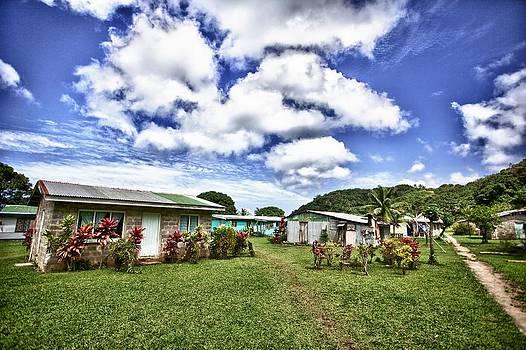 Village on Beqa Fiji by JM Photography