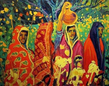 Village Women by Brian Simons