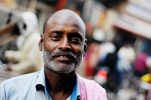 Villager Portrait by Money Sharma