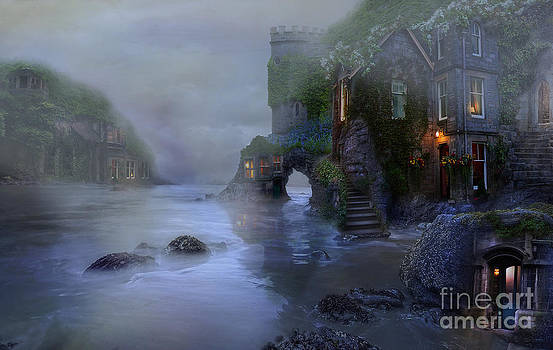 Villages by the foggy sea II by Lynn Jackson