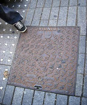 Mary Lee Dereske - Vilnius Lithuania Manhole Cover