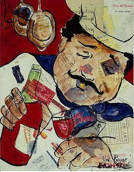 Vin Rouge by Elaine Elliott